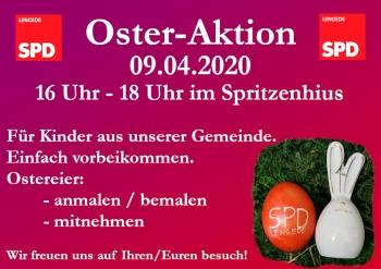 Plakat Oster-Aktion 09.04.2020